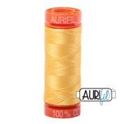 Aurifil 50 Cotton Thread - 1135 (Pale Yellow)